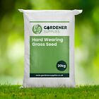 HARD-WEARING BACK LAWN TOUGH LAWN GRASS SEED PLAY AREAS CHILDREN CERTIFIED