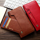 Luxury Magnetic PU Leather Wallet Photo Card Slot Case Cover for Apple iPhone