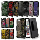 Rugged Case w/Stand+Holster Clip Cover for iPhone 7 / 8 / Plus / SE 2