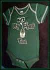 NBA APPAREL MILWAUKEE BUCK INFANT 3-6 MONTH ONE PIECE MY VERY FIRST TEE BLK & GR