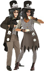 Couples Ladies AND Mens Dark Hatter Halloween Scary Fancy Dress Costumes Outfits
