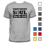 NORTHERN SOUL T-SHIRT MUSIC MOD 70's TEE VINYL RECORDS RnB VINTAGE MOTOWN WIGAN