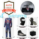 Redbull 2017 Go Kart suit (includes suit, gloves, balaclava) free bag - CIK/FIA