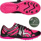 More Mile Ladies Womens Mud Warrior 1Cross Country Running Spikes With Tape Pink