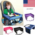 Toddler Snack Play Tray Car Seat Cover Harness Buggy Kids Portable Travel Table