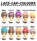 New 12 x Black/White/Assorted Colour Under Hijab TIE Bonnet Cap UK SELLER P&P
