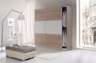 New Modern Wardrobe RUFO with Sliding Doors In Choice Of Colours