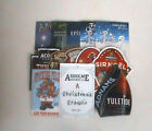 CHRISTMAS THEME REAL ALE BEER PUMP CLIP SIGNS Breweries A to C