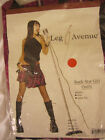"""Leg Avenue 83025 Rockster Adult Woman's  """"Rock Star Girl Outfit"""" Costume 2 piece"""