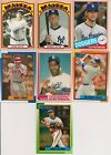 2013 TOPPS ARCHIVES BASEBALL DAY GLOW ORANGE PARALLEL CARDS #1- #200 YOU PICK