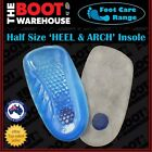 TBW HEEL & ARCH Gel Insoles - Silicon Orthotic Foot Support Comfort Pain Relief