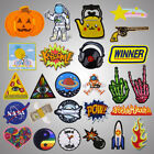 clothing patch - Punk Embroidery Sew On Iron On Patch Clothes Badge Fabric Applique Craft Stic