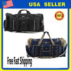 large sports bag - Waterproof Duffel Bag Tote Travel Gym Sport Bag Carry Shoulder Large Capacity AP