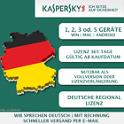 Kaspersky Internet Security 2018 EU [ 1 PC, 2 PC , 3 PC oder 5 PC / Ger&auml;te ] <br/> Multi-Device [ONLY EUROPEAN UNION]