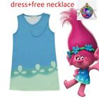 Trolls Poppy Cosplay Costumes  Clothes Kids Party Holiday Birthday Dress k85 image