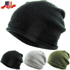 Thin Lightweight Slouchy Beanie Baggy Style Skull Cap Winter Unisex Ski Hat
