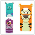 3D Cartoon Monster Silicone Rubber Gel Soft Case Cover For Sony Xiaomi HTC ZTE