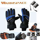 Outdoor Work Windproof Electric Heated Hand Winter Warmer Gloves 2000mAh Battery