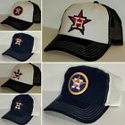 Houston Astros Retro Snap Back Cap ~Hat ~Classic MLB Patch Logo ~4 Styles ~New