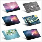 Hard Rubberized Stars Sky Painting Case Shell For Mackbook Pro Air 11 13 15 inch