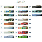 Washi Tape, Masking Tape, Decorative trim, Gift and Craft Tape - NOVELTY designs