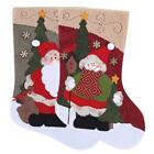 Large Creative Christmas Stocking Chrismas Decorations for Christmas Tree H1