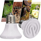 25-100W Pet Reptile Breed Ceramic Heat Emitter Heater Light Brooder Lamp Bulb FB