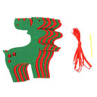 New Xmas Christmas Tree Hanging Flag Banner Ornament Gift Home Yard Party Decor