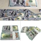 100 Bills Full Print Best Movie Prop Play Fake Money Joke Prank Magic Props :i