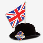 156 x Great British Bowler Hats   Wholesale Union Jack or St Georges Flag