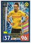 CHAMPIONS LEAGUE MATCH ATTAX 2017/2018 ???? MAN OF THE MATCH ???? Football Cards