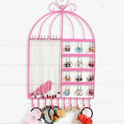 Wall Jewelry Earring Organizer Hanging Holder Necklace Display Stand Rack Holder