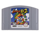 For Nintendo 64 Game Mario Smash Bros Zelda Video Game Cartridge Console Card US