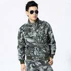 MENS VINTAGE TACTICAL HUNTING COTTON JACKET MILITARY CAMOUFLAGE COAT ZIP LINER