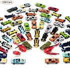 Diecast Toy Racing Cars Lot 100 Piece Children Christmas Gift Cars Kids Play Set