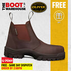Oliver Work Boots, 45627, Fully Non-Metallic Toe Cap Safety PROSPECTING FRIENDLY