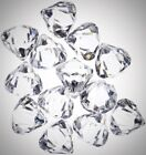 Acrylic Clear Ice Rock Diamond Crystals Treasure Gem Table Scatters Vase Fillers
