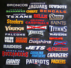 All NFL Names of Teams 3 Patches Sew-On Iron-On Logo Craft Appliques Cotton $4.6 USD on eBay