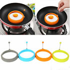 Silicone Egg Pancake Ring Mold Shaper Kitchen Breakfast Cooking Tool Striking US