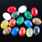 Natural Gemstone Oval No Drill 13x18mm Cabochon CAB For Making Jewelry MBU300