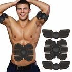 EMS Abdominal Muscle Trainer Abs Toner Fit Exercise Shape Body Building Fitness