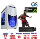 Ultra Fast Gaming Pc Quad Core I7 Gtx 1050 Ti 16gb Windows 10 Desktop Computer