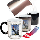 Funny Mugs - Captain Koala Bomb Squad - Birthday COLOUR CHANGING NOVELTY MUG