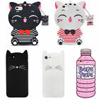3D Cartoon Soft Silicone Gel Rubber Cover Case For iPhone Huawei P10 Samsung S8
