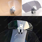 US Clip On Windshield Extension Wind Deflector For BMW R1200GS R1200RT F800GS