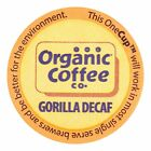 Organic Coffee Company Decaf Single Serve for Keurig Gorilla 12 Count
