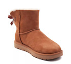 UGG Women's Mini Bailey Bow II Boots - CHESTNUT - SALE