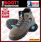 Steel Blue, 312207, Steel Cap Safety Work Boots, Lace-Up Hiker, Anti-Static.