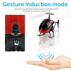 US!Mini Drone Helicopter Infrared Induction Sensor Aircraft Toys Gyro Quadcopter