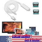 TX Lightning To HDMI HDTV AV Adapter Cable For iPhone 6 6S 7 Plus iPad Mini 2 3